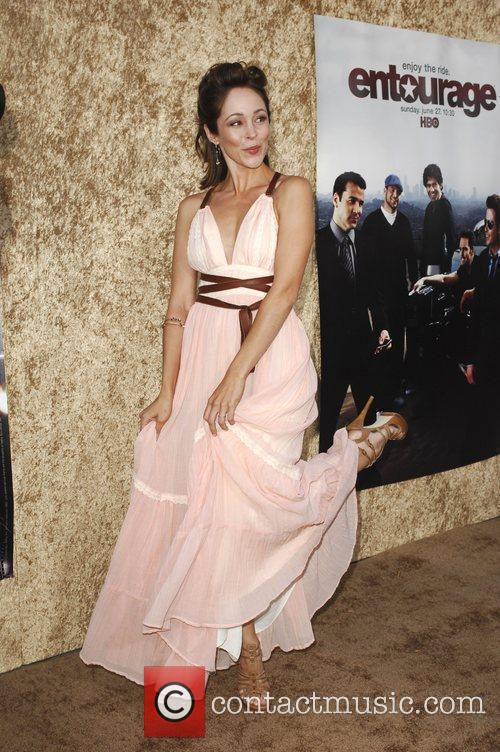 Autumn Reeser Los Angeles Premiere of the HBO...