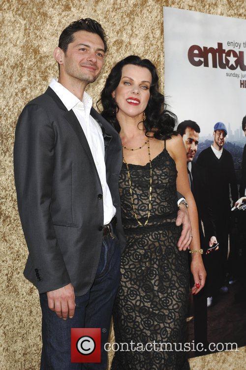 Debi Mazar and Gabriele Corcos Los Angeles Premiere...