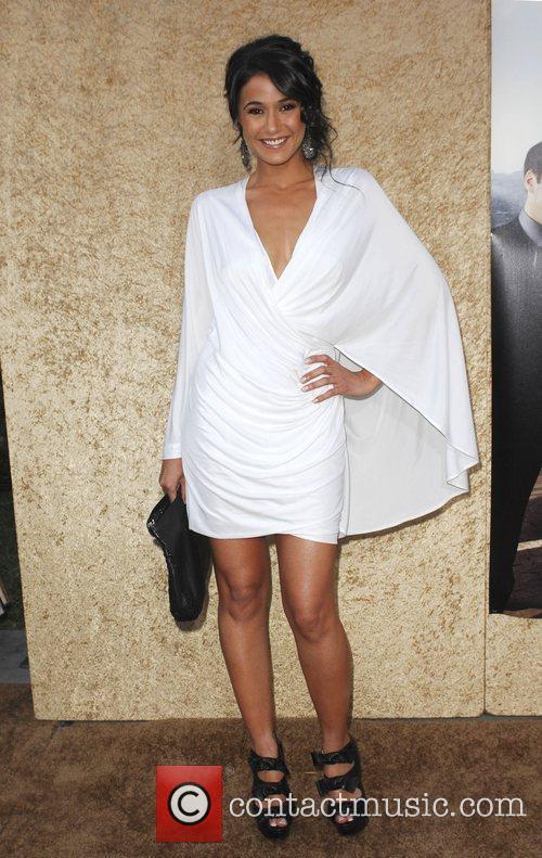 Emmanuelle Chriqui Los Angeles Premiere of the HBO...