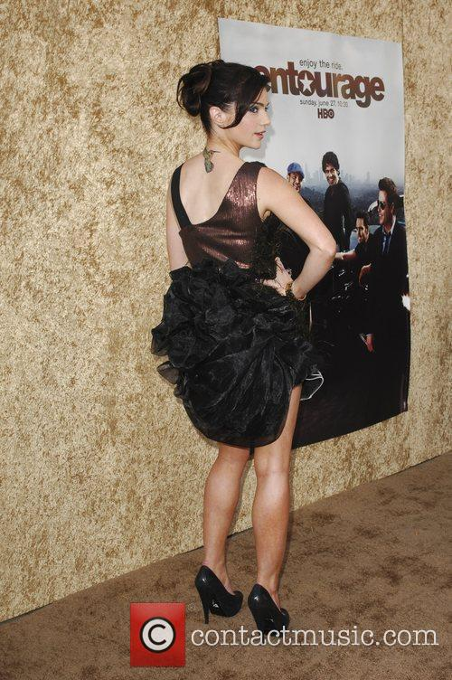Janet Montgomery Los Angeles Premiere of the HBO...