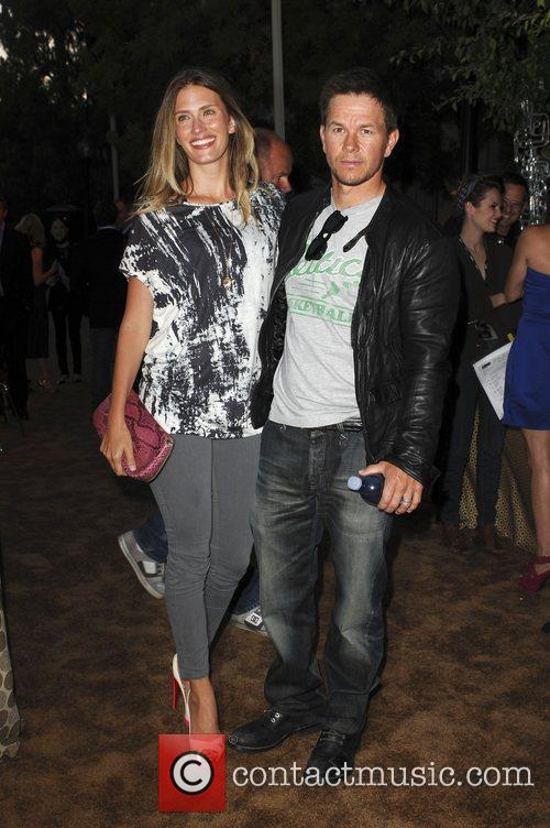 Mark Wahlberg and Rhea Durham Los Angeles Premiere...