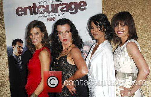 Perrey Reeves, Debi Mazar, Emmanuelle Chriqui, and Constance...