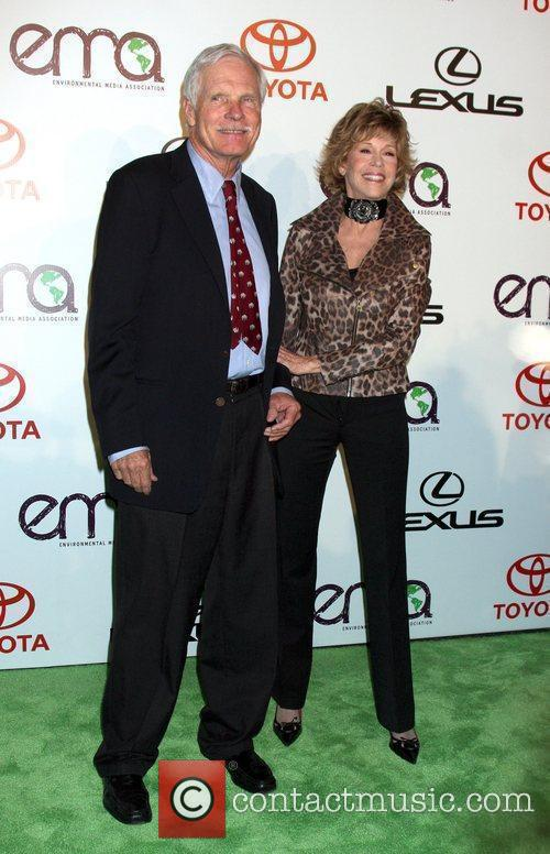 Ted Turner and Jane Fonda 3