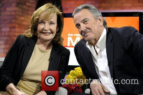 Marilyn Denis and Eric Braeden  on the...