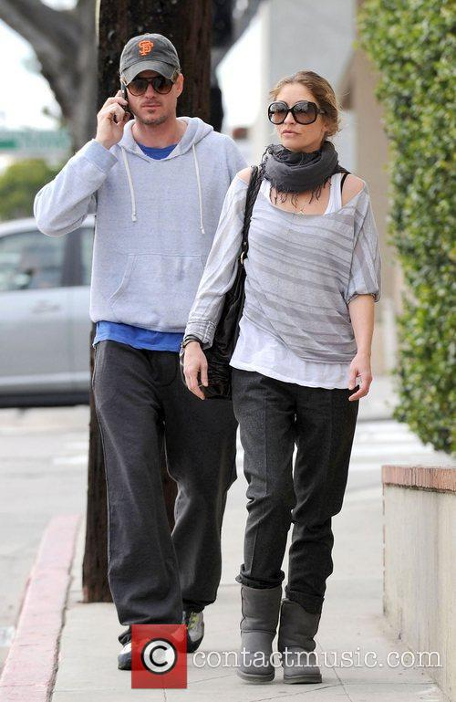 Eric Dane and Rebecca Gayheart out and about...