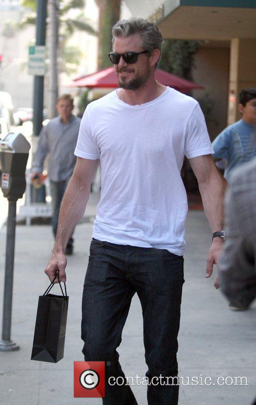 Eric Dane leaves a jewelry store Los Angeles,...