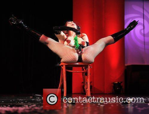 RubberDoll performs on the Main Stage Erotica 2010,...