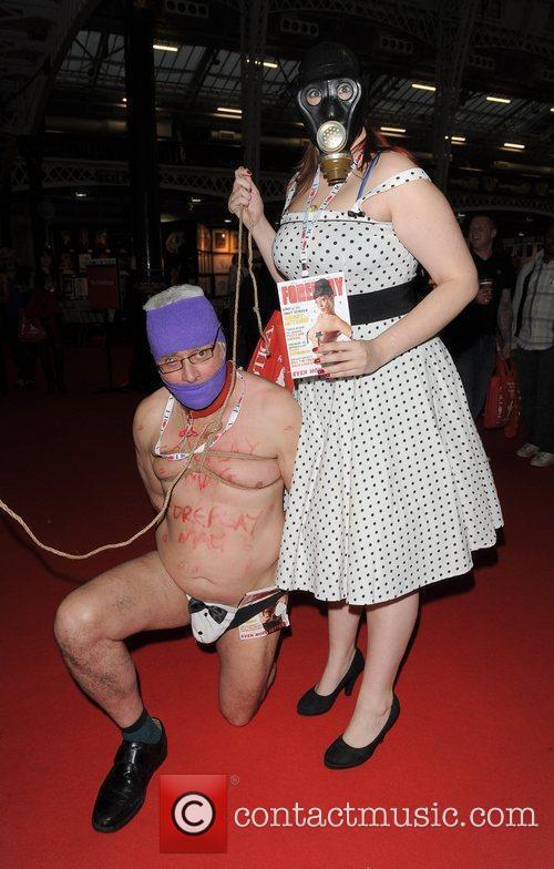 Atmosphere Erotica 2010, held at Kensington Olympia London,...