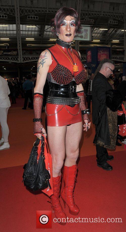 Model Erotica 2010, held at Kensington Olympia London,...
