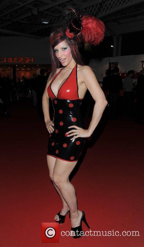 RubberDoll Erotica 2010, held at Kensington Olympia London,...