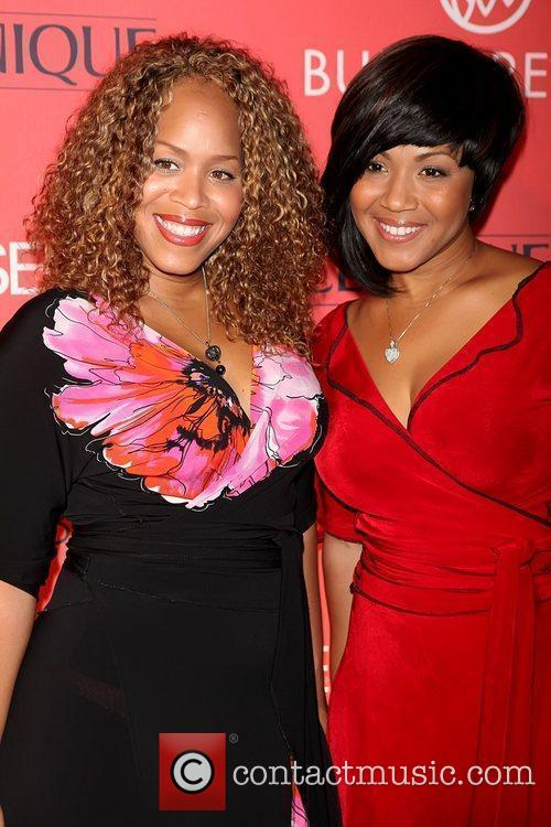 Erica Atkins-Campbell and Tina Atkins-Campbell of Mary Mary...