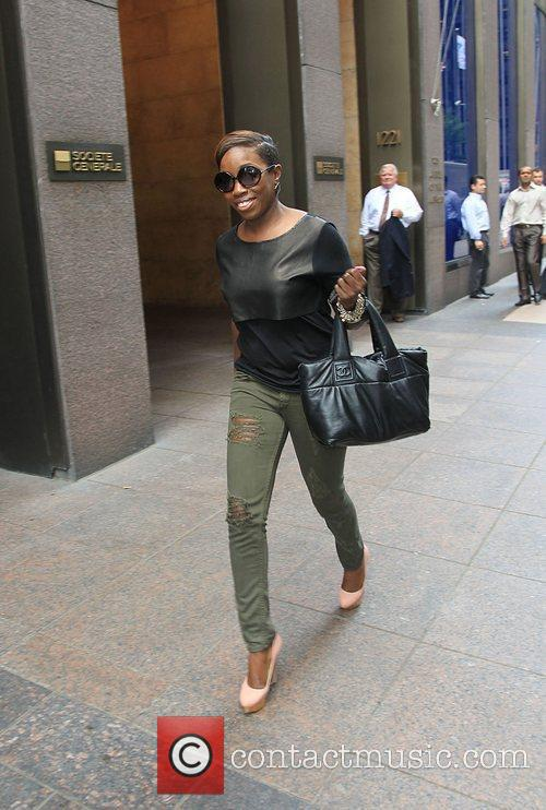 Estelle out and about in New York City...