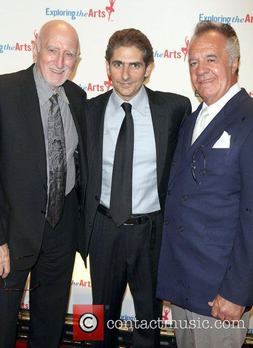 Dominic Chianese, Michael Imperioli and Tony Sirico attend...