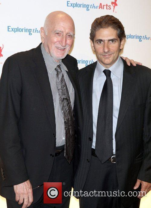 Dominic Chianese; Michael Imperioli attend the Exploring the...