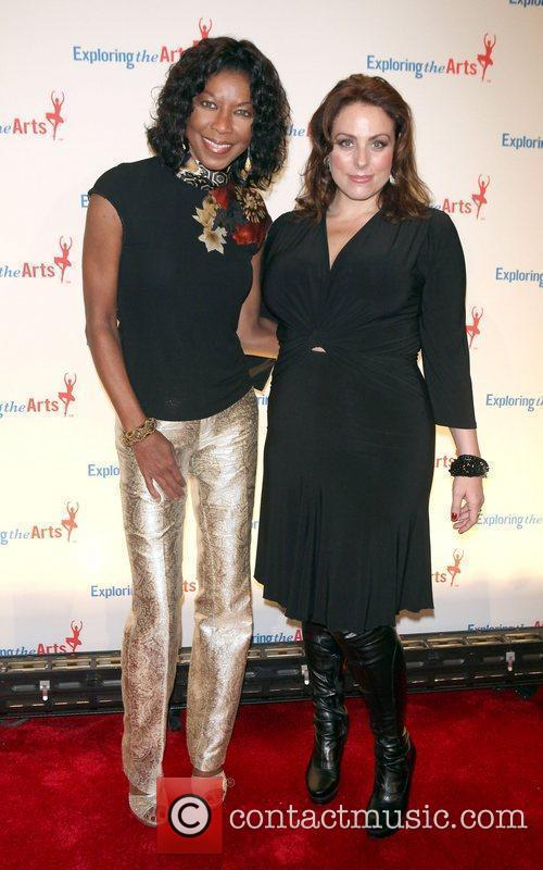 Natalie Cole  attends the Exploring the Arts...
