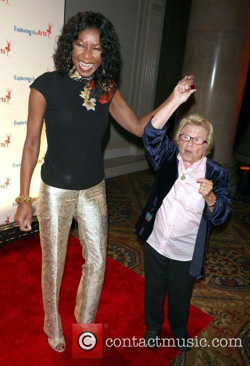 Natalie Cole; Ruth Westheimer  attend the Exploring...