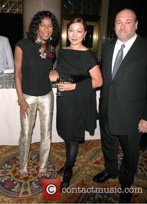Natalie Cole; James Gandolfini  attend the Exploring...