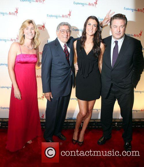 Tony Bennett, Susan Benedeto and Alec Baldwin attend...