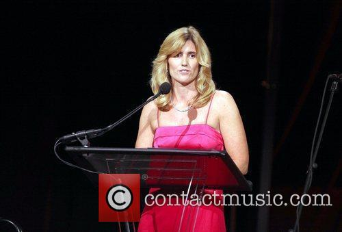 Susan Benedeto speaks at the Exploring the Arts...