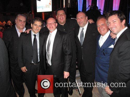 Michael Imperioli, James Gandolfini, Steve Schirripa and Wall Street 4