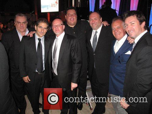 Michael Imperioli, James Gandolfini, Steve Schirripa and Wall Street 5