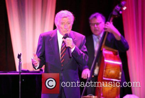 Singer Tony Bennett performs at the Exploring the...