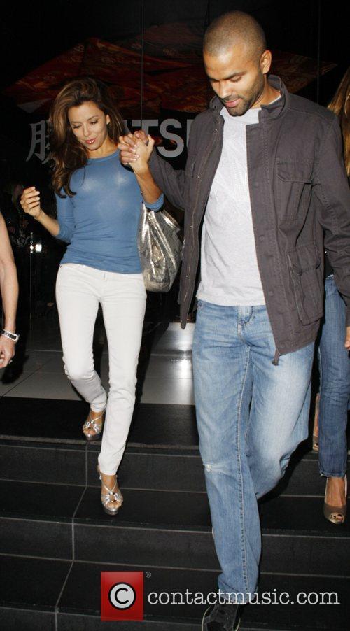 Eva Longoria and Tony Parker 3