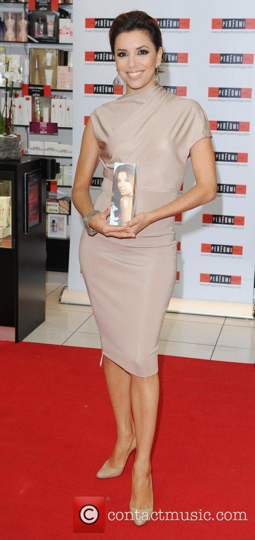 Launches her new fragrance Eva at the Perfume...