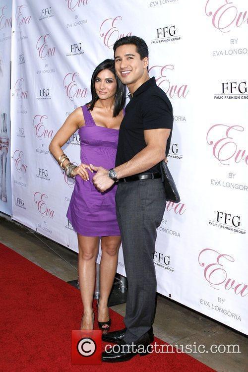 Mario Lopez with girlfriend Courtney Mazza 'Eva' by...