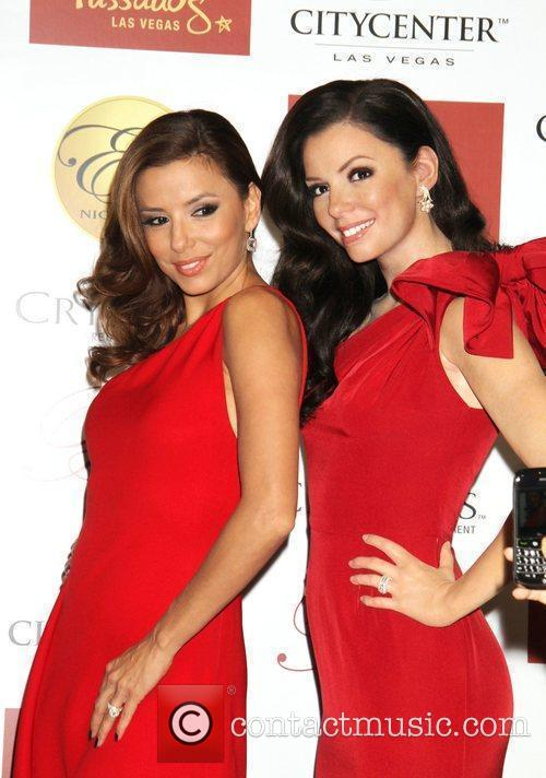 Eva Longoria Parker is inducted into Madame Tussauds...