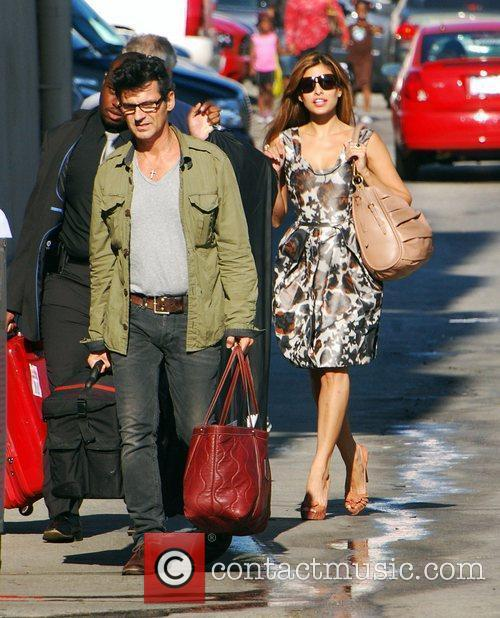 Eva Mendes and Jimmy Kimmel 1