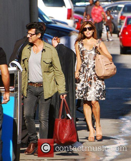 Eva Mendes and Jimmy Kimmel 3