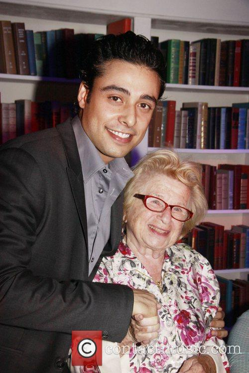 Manuel Herrera and Dr. Ruth Westheimer Opening night...