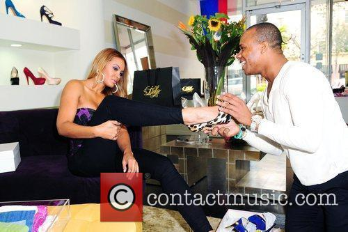 Reality TV personality Evelyn Lozada from VH1's 'Basketball...