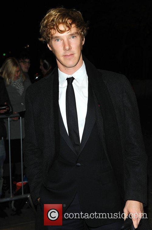 Benedict Cumberbatch at the London Evening Standard Theatre...