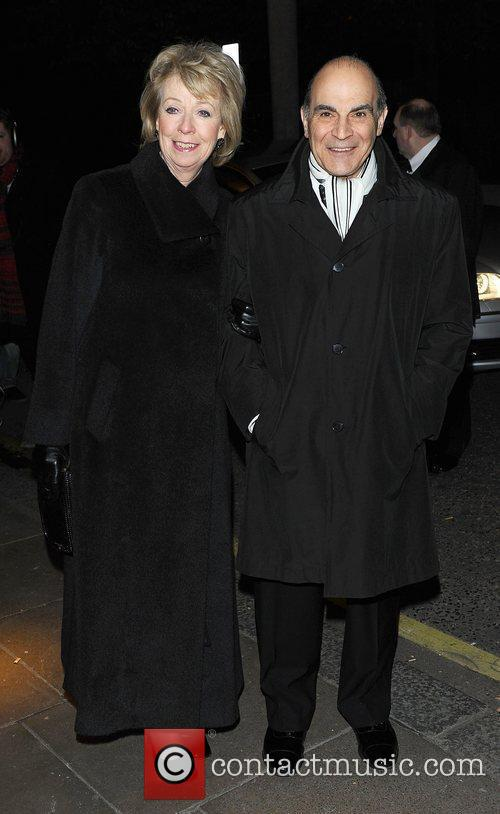 David Suchet and Sheila Suchet at the London...