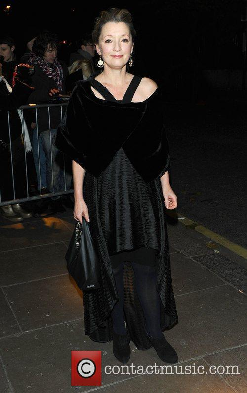 Lesley Manville at the London Evening Standard Theatre...