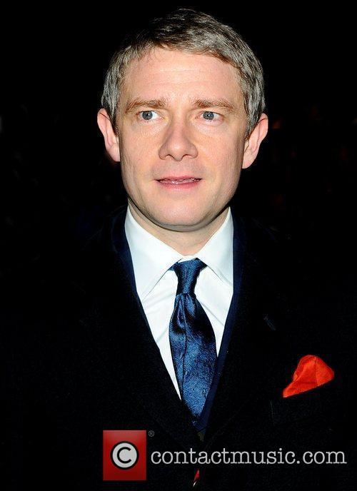 Martin Freeman at the London Evening Standard Theatre...