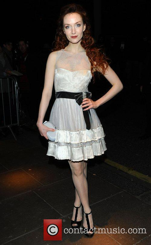 Olivia Grant at the London Evening Standard Theatre...