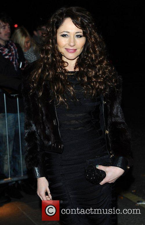 Frances Ruffelle at the London Evening Standard Theatre...