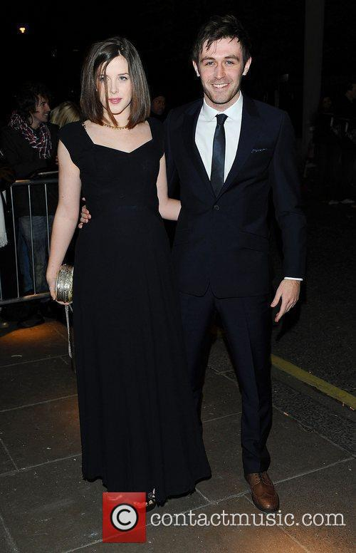 Guest at the London Evening Standard Theatre Awards...