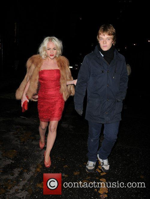 Jaime Winstone and Alfie Allen 1
