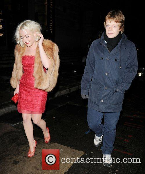 Jaime Winstone and Alfie Allen 2