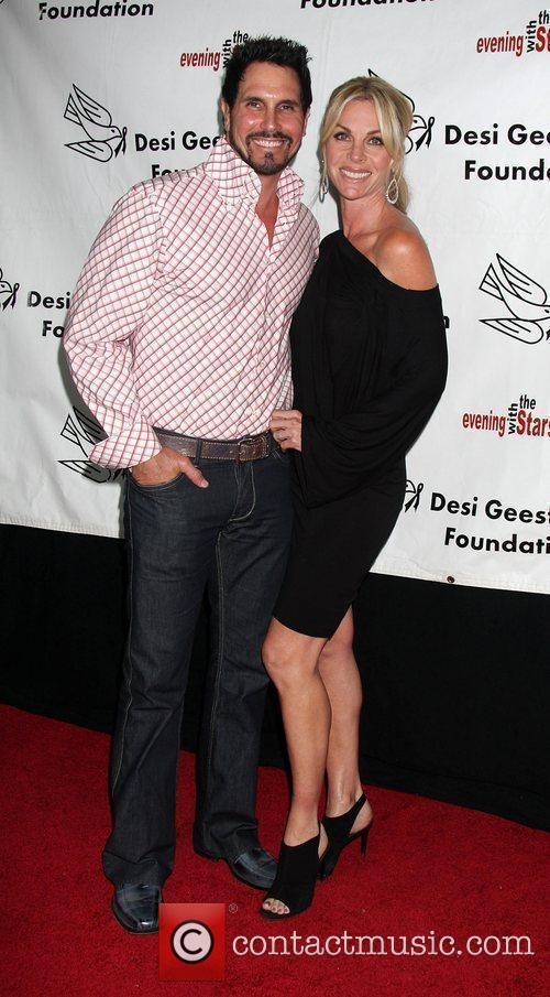 Don DIamont, Cindy Ambuel arrives at the Evening...