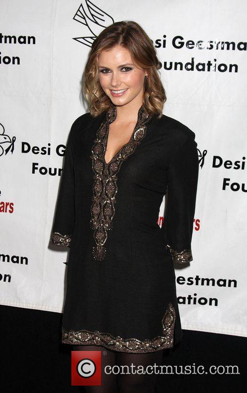 Brianna Brown arrives at the Evening With the...