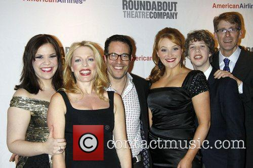 Opening night party arrivals for the Roundabout Theatre...