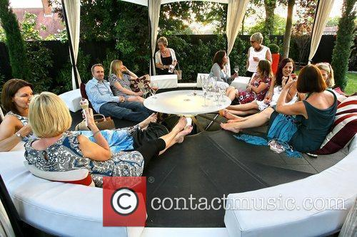 Guests Evitavonni annual lifestyle party held at Evitavonni...