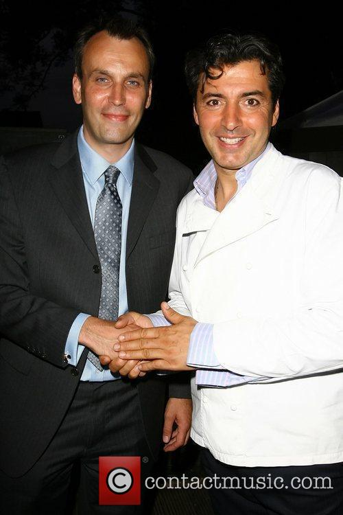 Jean-Christophe Novelli and guest Evitavonni annual lifestyle party...