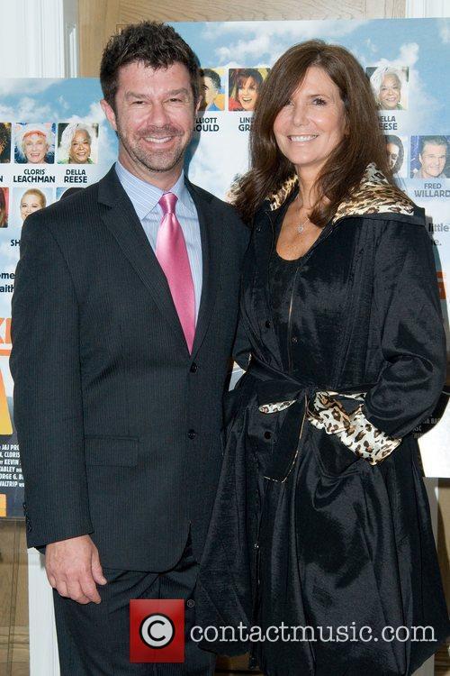 Jim Casey and Kim Waltrip Movie Premiere of...