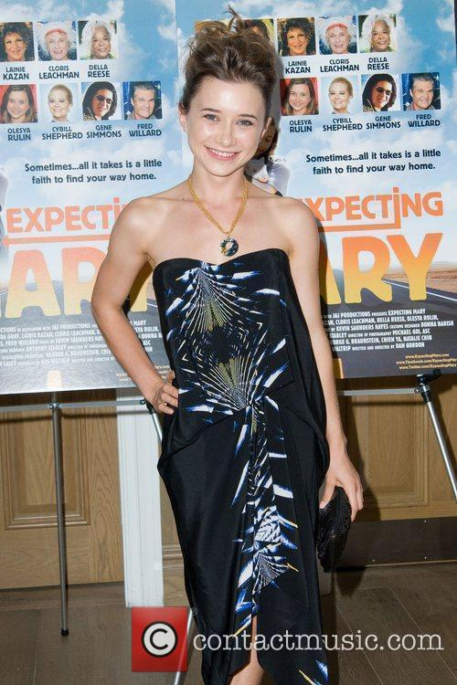 Oleysa Rulin Movie Premiere of 'Expecting Mary' to...